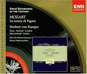 W.A. Mozart Marriage Of Figaro Comp Opera Seefried Kunz Swarzkopf & Karajan Vienna Phil