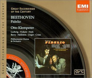 L.V. Beethoven Fidelio Comp Opera Ludwig Vickers Frick Berry Klemperer Po & Chorus