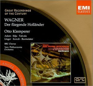 R. Wagner Flying Dutchman Comp Opera Adam Silja Talvela Kozub Klemperer New Po