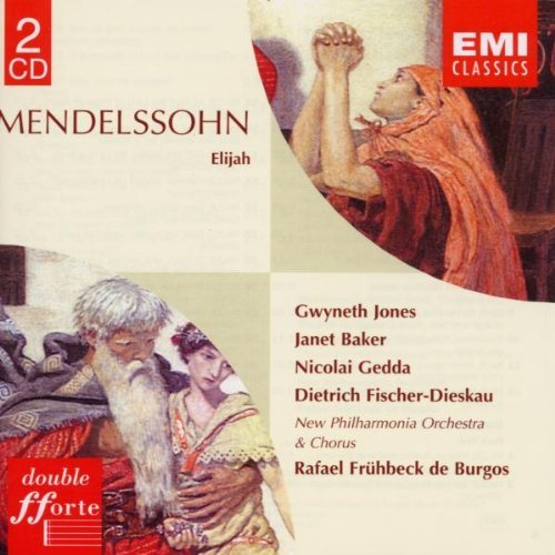 F. Mendelssohn Elijah (elias) Jones Baker Gedda Woolf + De Burgos New Phil Orc