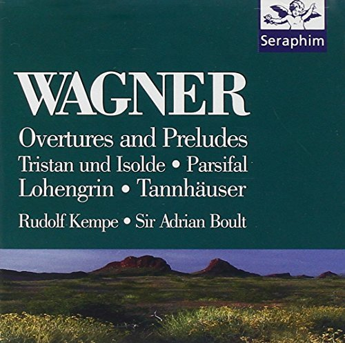 Kempe Boult Wagner Overtures Preludes Kempe & Boult Various