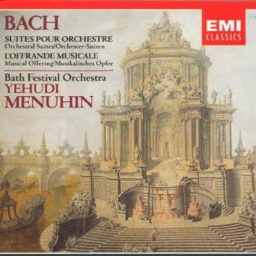 J.S. Bach Orchestral Suites Menuhin*yehudi (vn)
