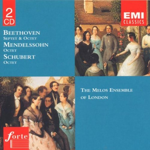 Beethoven Mendelssohn Schubert Spt (e Flat) Op. 20 Octet (e F Melos Ens Of London