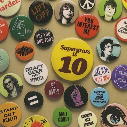Supergrass Supergrass Is 10 Best Of 94 0