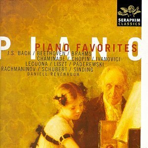 Daniell Revenaugh Piano Favorites Rachmaninov Debussy Beethoven Liszt Chopin Brahms Schubert &