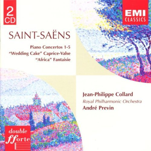 C. Saint Saens Con Pno 1 5 Wedding Cake Fant Collard*jean Philippe (pno) Previn Royal Po