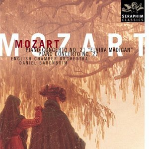 D. English Chamber Barenboim Mozart Piano Ctos. #21 & 27 Barenboim English Co