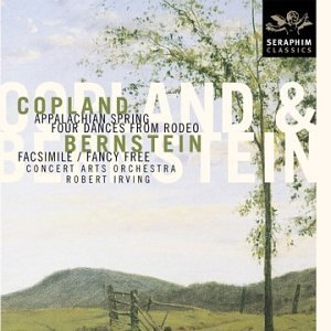 Copland Bernstein Appalachian Spring Four Dance Irving Concert Arts Orch
