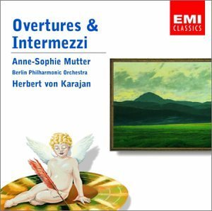Richard Wagner Overtures & Intermezzi Mutter*anne Sophie (vn) Karajan Berlin Po