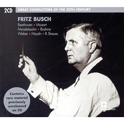 Fritz Busch Great Conductors 20th Century Busch Various
