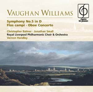 R. Vaughan Williams Sym 5 Flos Campi Con Ob Small*jonathan (ob) Handley Royal Livermore Po