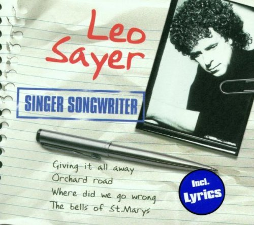 Leo Sayer Singer Songwriter Import Nld