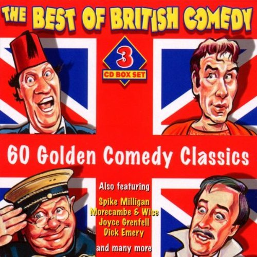 Best Of British Comedy Best Of British Comedy Import Eu 3 CD Set