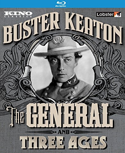 The General Three Ages Buster Keaton Double Feature Blu Ray Nr