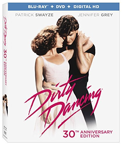 Dirty Dancing Swayze Grey Blu Ray DVD Dc 30th Anniversary Edition Pg13