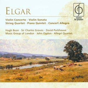 E. Elgar Con Vn Bean*hugh 2 CD Set