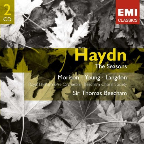 J. Haydn The Seasons 2 CD Beecham Royal Po