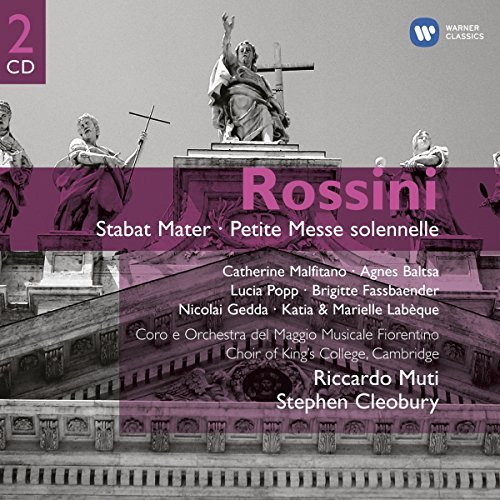 King's College Choir Rossini Petite Messe Solenell 2 CD King's College Choir