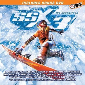 Ssx 3 Video Game Soundtrack Kinky Fatboy Slim N.E.R.D. Incl. DVD