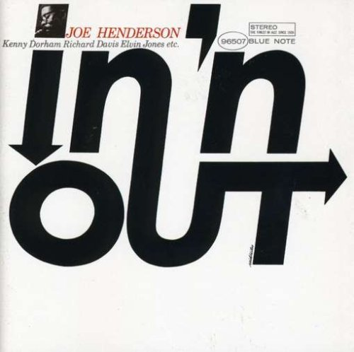 Joe Henderson In 'n Out Remastered Rudy Van Gelder Editions