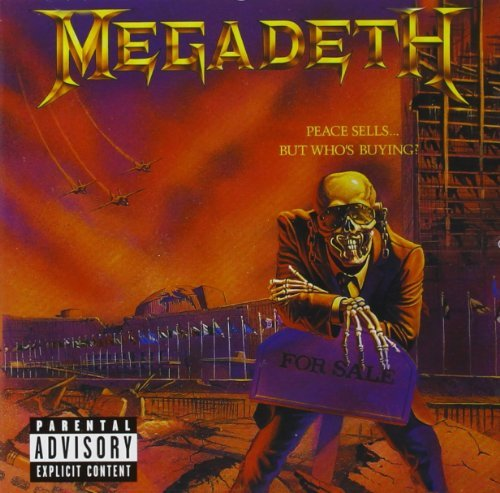 Megadeth Peace Sells But Explicit Version Remastered Incl. Bonus Tracks