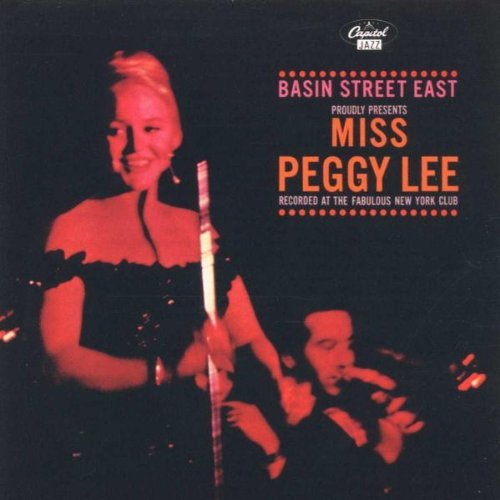 Peggy Lee Live At Basin Street East