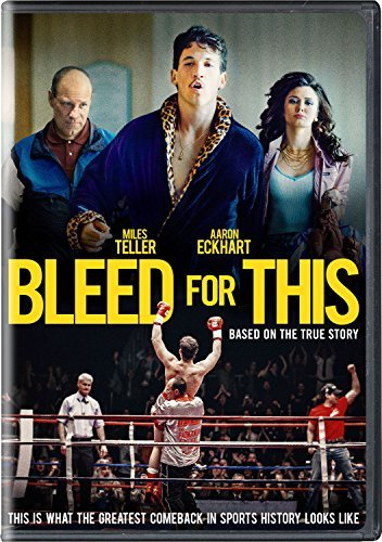 Bleed For This Teller Eckhart Sagal DVD R