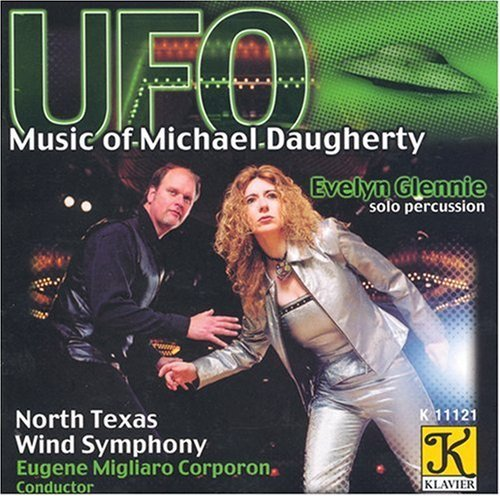 M. Daugherty Ufo Motown Metal Niagara Falls Glennie Corporon North Texas Wind Symphony