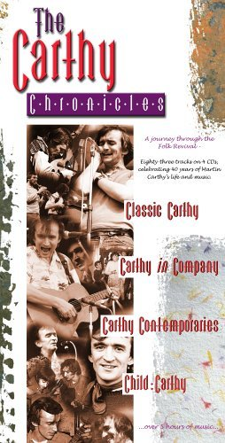 Carthy Chronicles Journey Through The Folk Reviv 4 CD Set