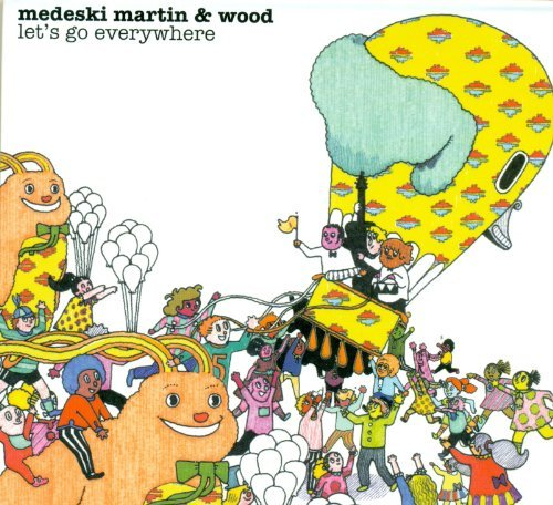 Medeski Martin & Wood Let's Go Everywhere Digipak