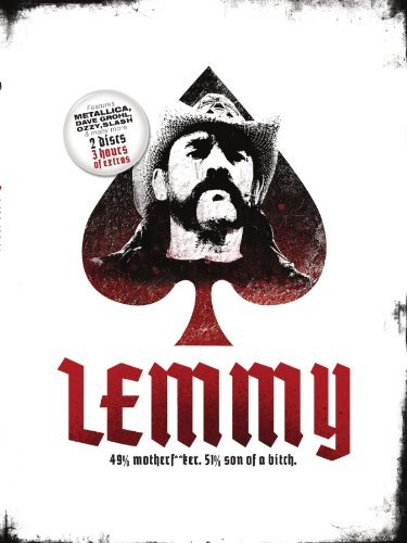 Lemmy Kilmister Lemmy 49% Motherf**ker 51% Son Of A Bitch