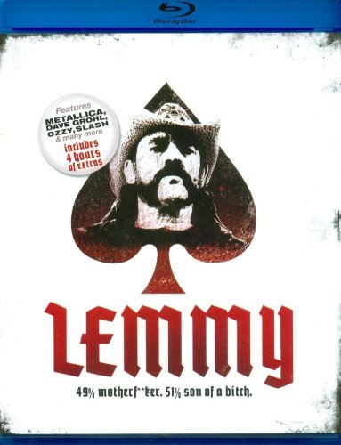 Lemmy Kilmister Lemmy 49% Motherf**ker 51% Son Of A Bitch Blu Ray Ws