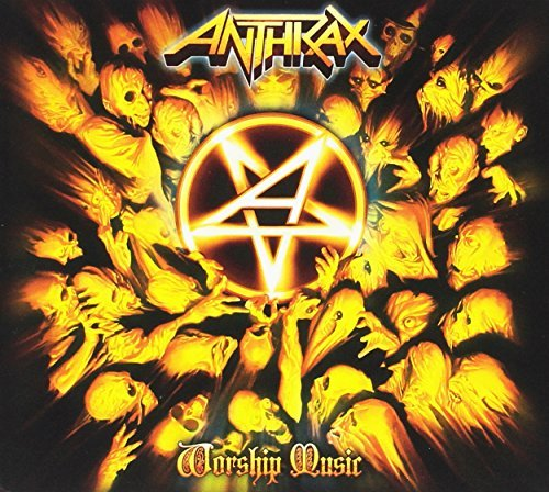 Anthrax Worship Music Digipak