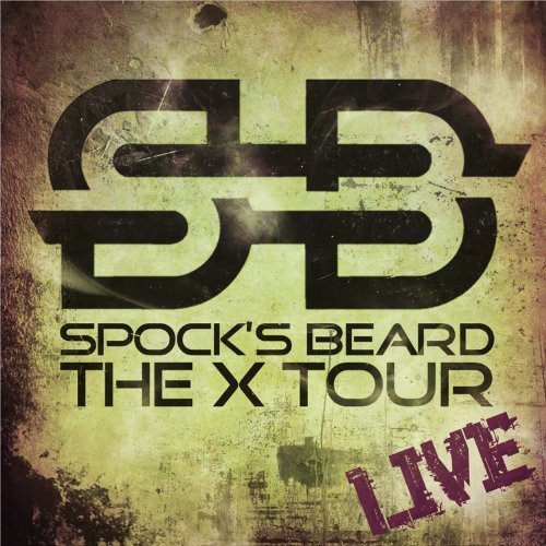 Spock's Beard X Tour Live 2 CD 1 DVD