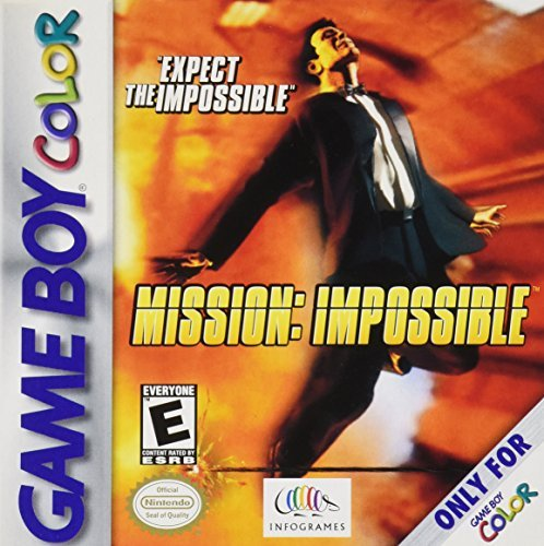 Gameboy Color Mission Impossible E