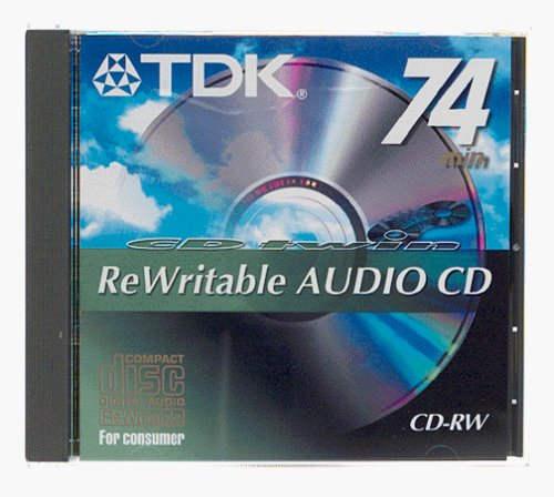 Cdr 74 Rewritable (audio) Cdr W74twnbh
