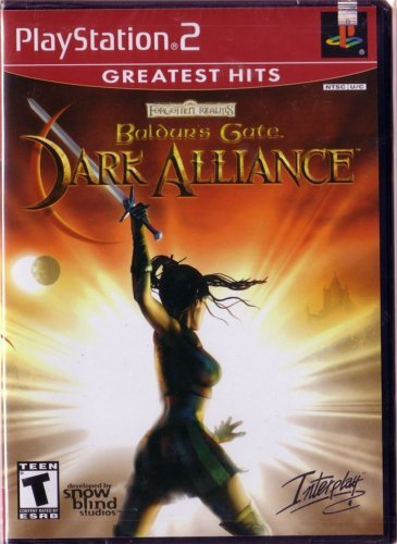 Ps2 Baldur's Gate Dark Alliance Rp