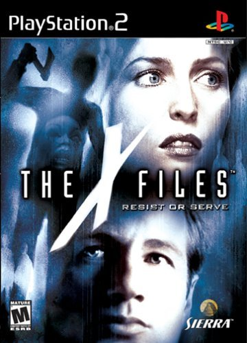Ps2 X Files Resist Or Serve M