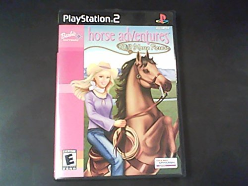 Ps2 Barbie Wild Horse Rescue