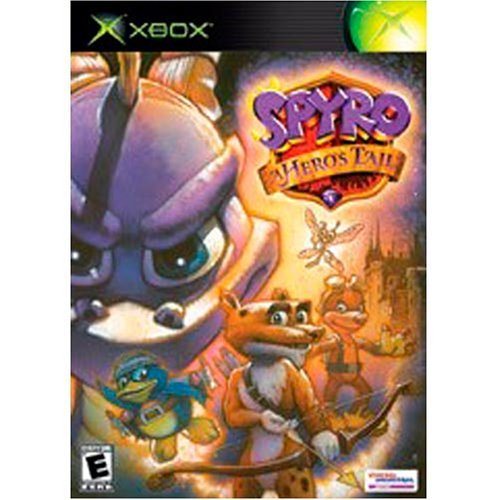 Xbox Spyro Hero's Tail