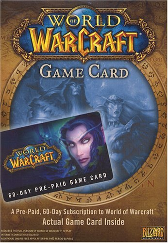 Pc Games Warcraft 60 Day Sub Card