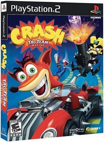 Ps2 Crash Tag Team Racing