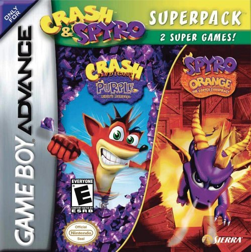 Gba Crash & Spyro Super Pack