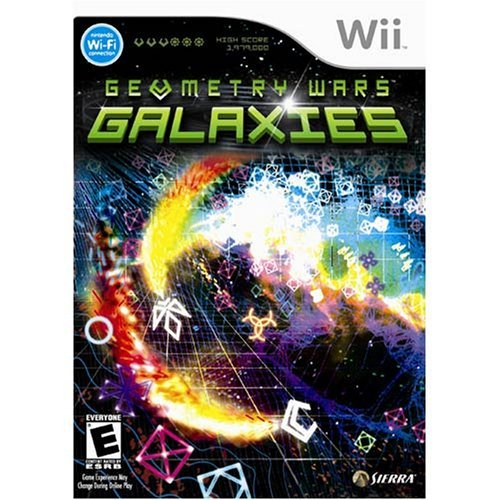 Wii Geometry Wars Galaxies