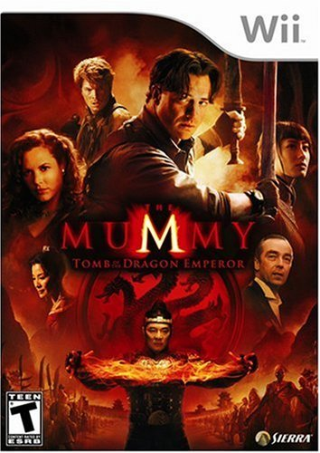 Wii Mummy Tomb Of The Dragon Empe