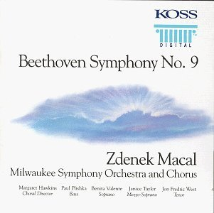 L.V. Beethoven Sym 9 Choral Macal Milwaukee So & Cho