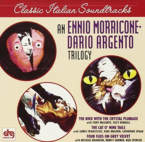 Ennio Morricone Morricone Argento Trilogy Bird With The Crystal Plumage Cat O'nine Tails