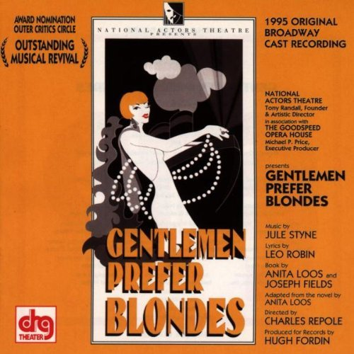 Cast Recording Gentlemen Prefer Blondes Music By Jule Styne