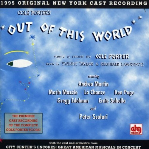 Cast Recording Out Of This World Music By Cole Porter