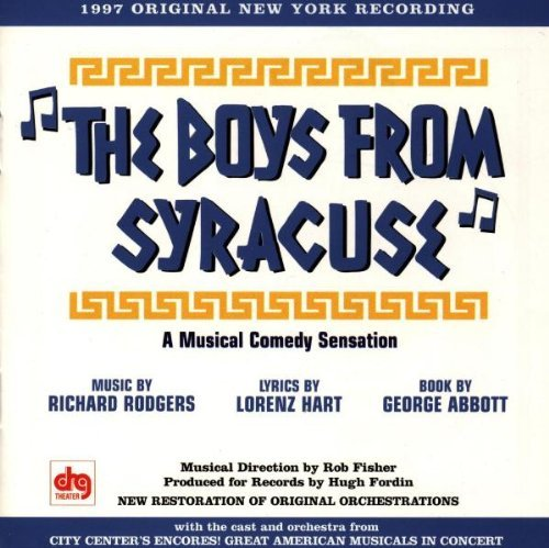 Boys From Syracuse Boys From Syracuse